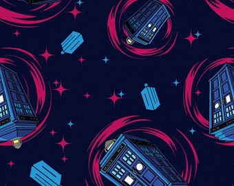 Springs - BBC Dr. Who Comics - Phone Booth