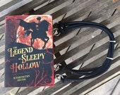 BOOK PURSE - The Legend of Sleepy Hollow - Washington Irving - Made to Order hand bag