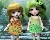 Dress for Puki Fee, Lati Yellow, Blythe Middie & other similar sized BJDs