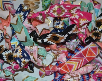 Grab Bag of Aztec Geometric Prints Metallic Foil Destash 10/20