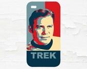 William Shatner - Captian Kirk Star Trek Cell Phone Case - iPhone Case - iPod Touch 5 Case - Samsung Galaxy Case
