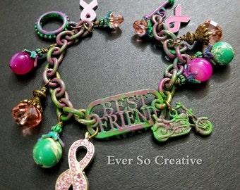 Best Friend Cancer Awareness Bracelet