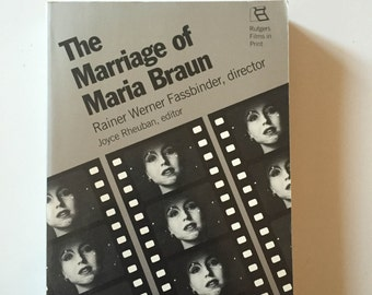The Marriage of Maria Braun by Rainer Werner Fassbinder (1991, Softcover)