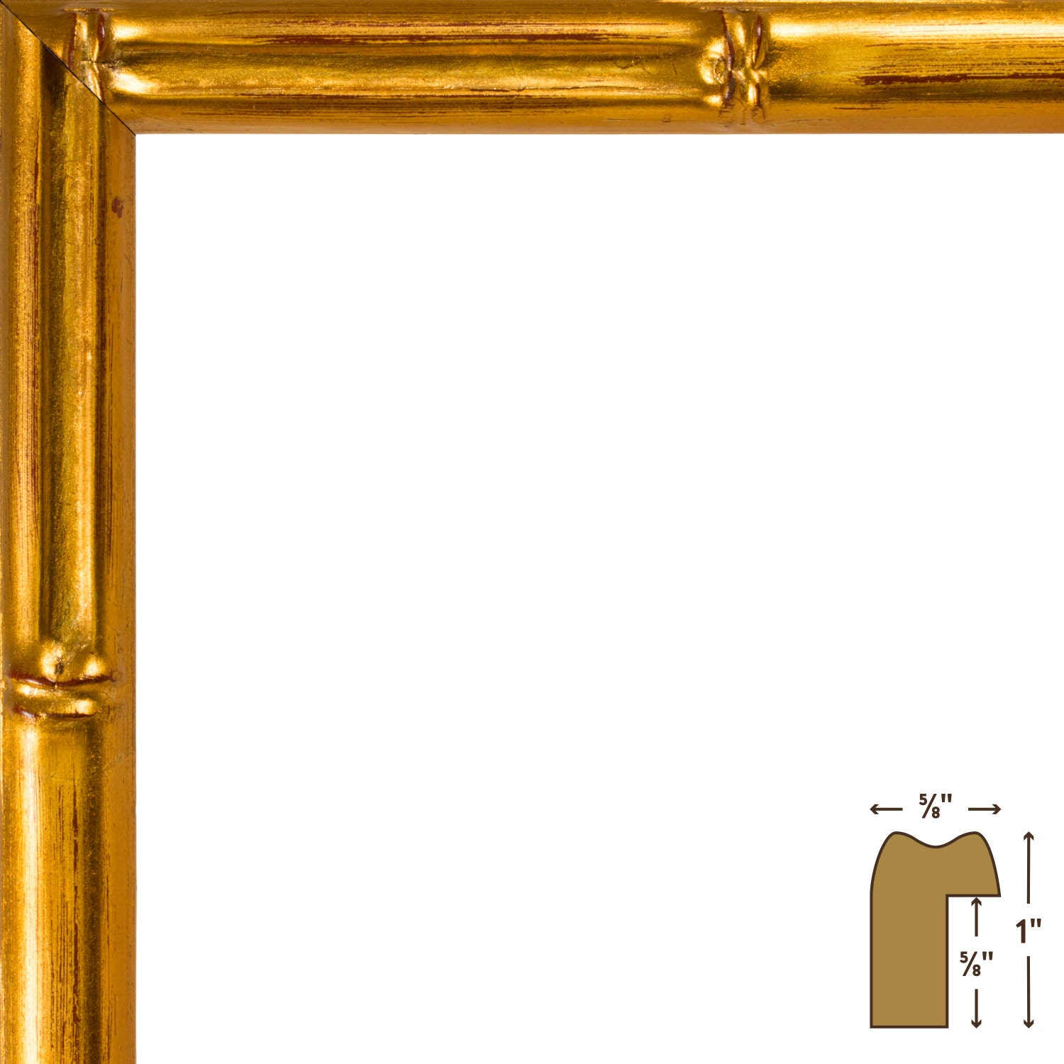 Craig frames 20x20 inch vintage gold bamboo picture frame 625 3299 jeuxipadfo Image collections