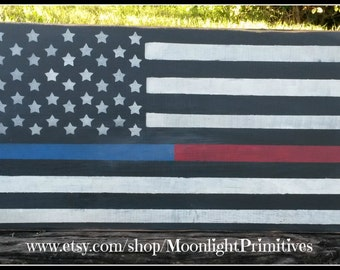 Thin Blue And Red Line Flag, Police Officer, Police Officer Gifts, Thin Blue Line, Thin Red Line, Firefighter Signs, Police Signs