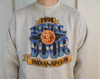 Vintage 1991 NCAA Final Four Champions Indianapolis Sweatshirt