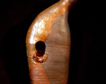 One Of A Kind Handmade Ceramic Bottle Vase
