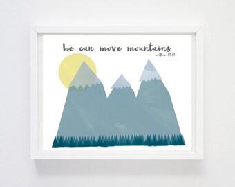 Move Mountains Print
