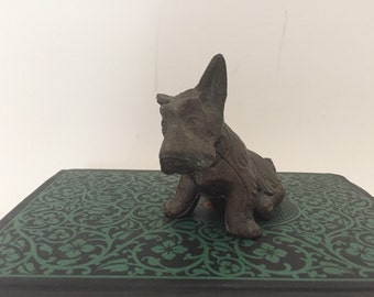 Metal Terrier Dog Figure