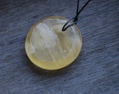 Honeycomb Calcite Pendant #44892