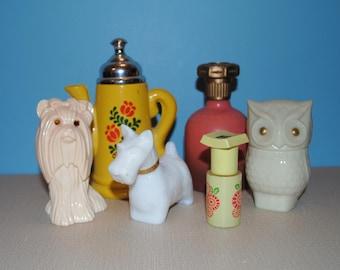 Vintage Avon Perfume Bottles