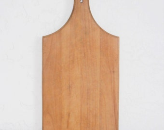 Antique Primitive Whale Tail Cutting Board