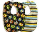 Baby boy bibs- nautical bib set- baby gift set- new baby gifts- custom baby bibs- personalized baby- dribble bibs- drool bibs- toddler bibs