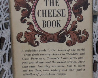 The Cheese Book Guide Cookbook Marquis Haskell Hardcover Vintage 1965
