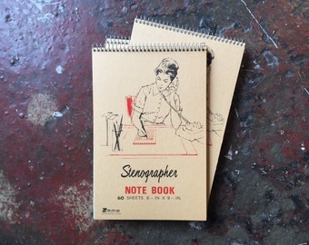 Vintage Stenographer Notebook