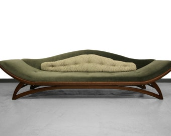Mid Century Gondola Style Sofa by Carsons Furniture - Adrian Pearsall Style