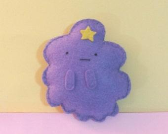Adventure time felt lumpy space princess plushie