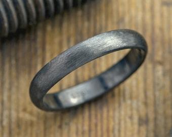 4mm Half Round Mens Wedding Ring