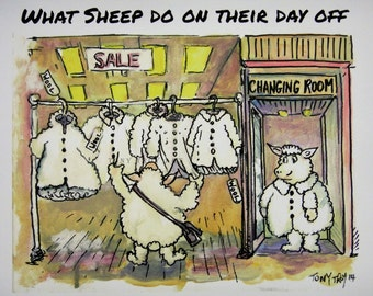 What Sheep Do On Their Day Off by Tony Troy