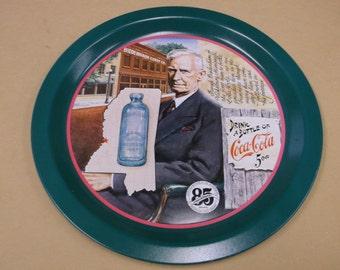 Original 1979 Coca-Cola Tin Tray, 85th Anniversary
