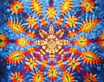 Tie Dye Tapestry ~ 2012 045 060 Mandala