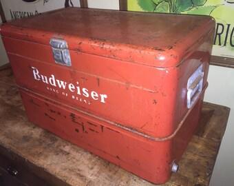 Vintage Budweiser Cooler