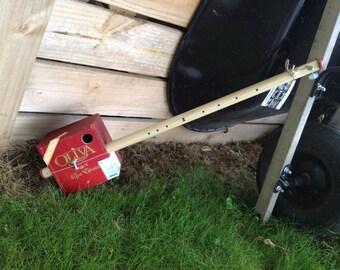 Oliva Diddy Bow - Saner Cigar Box Guitars