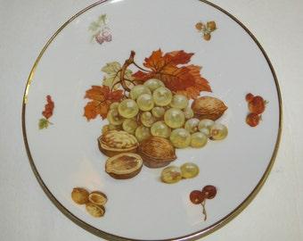 Debra (Smooth) by Bavaria Round Salad / Dessert Plate Germany