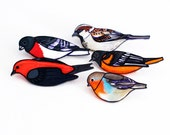 Choose Your Bird Brooch | Bird Pin | Song Bird | Grosbeak, Oriole, Sparrow, Tanager, Robin