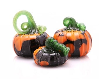 Black and Orange Pumpkin