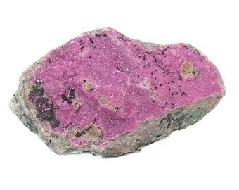 Magenta Pink Cobaltian Cobalto Calcite Pink Druzy Crystalline Mineral Specimen, Cutting Rough, Wear it or Display it, Gem Mined in Africa