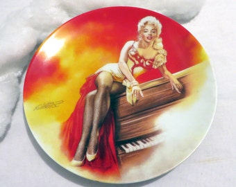 1991 The Estate of Marilyn Monroe Porcelain Plate 'River of No Return' Limited Edition Chris Notarile