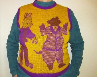 1970s UK Rupert Bear Sweater