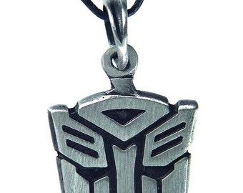 20%OFF- Transformers Autobot symbol pewter pendant 5000B