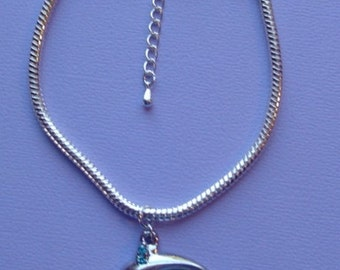 Dolphin Charm Bracelet w/ Extender