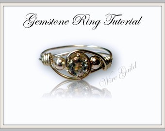 Gemstone Ring Tutorial