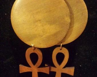 Ank handmade earrings