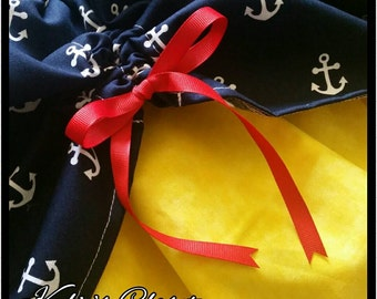 Nautical Anchor MiniBelle Ruffle Dress for Girls - Fairytale - Pageant - Birthday - Party - Princess - Celebration - Special Occasion