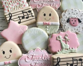 Nursery Rhyme Lullaby Cookies (12)