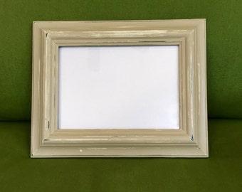 Tan & Cream Distressed Picture Frame (5x7)
