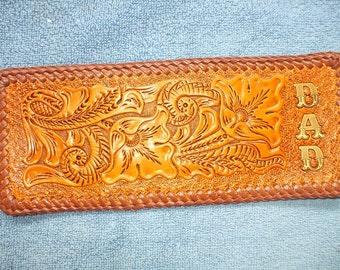 mens custom wallet / billfold, western dad  wallet /billfold (C6) ( I ship the same day as you order )