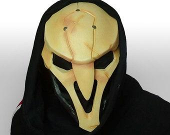 Sci-Fi Reaper Mask, Cosplay Costume Prop