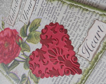 All Occasion Valentine Card One Of A Kind Collage UNLOCK YOUR HEART