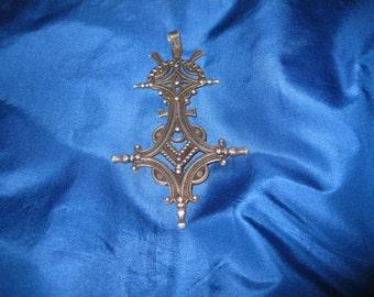 Silver Tribal Tuareg Cross