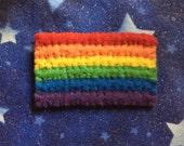 Rainbow Pride Felt Pin