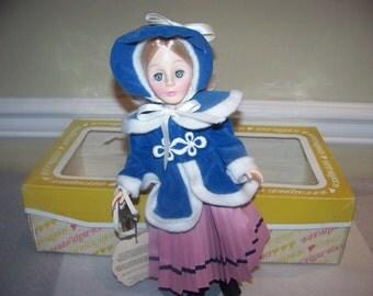 Skater by Effanbee 14 inch doll #1264 11inch