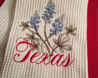 Texas Bluebonnet Handtowel