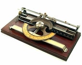 Antique World No.1 Index Typewriter, ca.1886