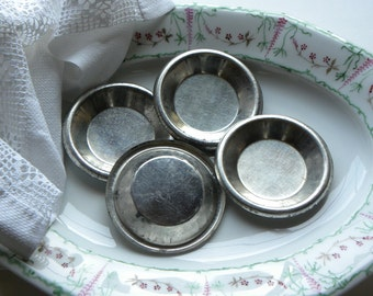Antique Vermont Farm  Rare Set of 4 Tinware Maple Sugar Candy Molds, Farmhouse Kitchen Decor, Mold Collector, Candy Maker