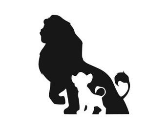 Lion King Silhouette Etsy